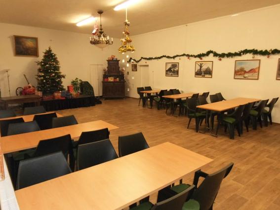 Veanstaltungs-Saal im Bürgerhaus